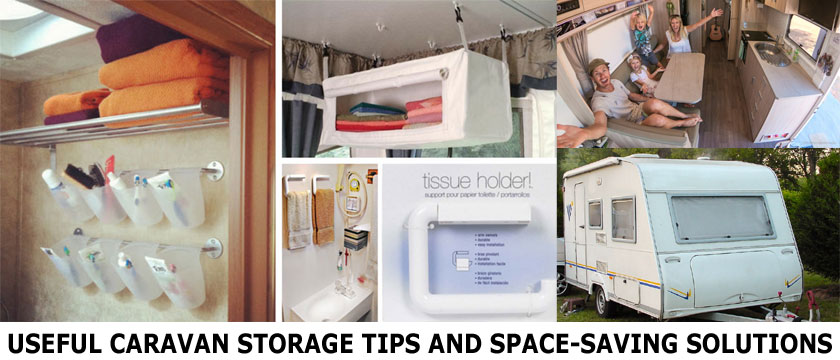 Save Storage Space in Your Caravan